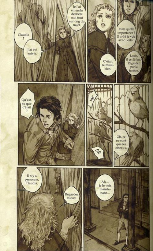 Entretien avec un vampire, l'histoire de Claudia, manga chez Pika de Rice, Witter