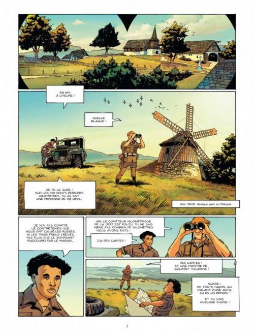 La Brigade juive T1 : Vigilante (0), bd chez Dargaud de Marvano, Marquebreucq