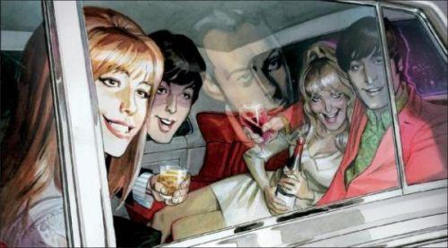 Le Cinquième Beatles, comics chez Dargaud de Tiwary, Baker, Robinson