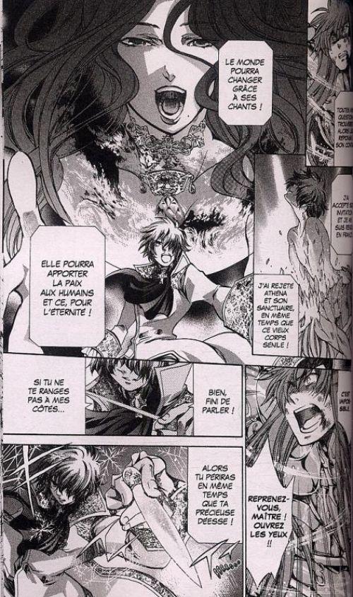 Saint Seiya - The lost canvas chronicles  T3, manga chez Kurokawa de Teshirogi, Kurumada