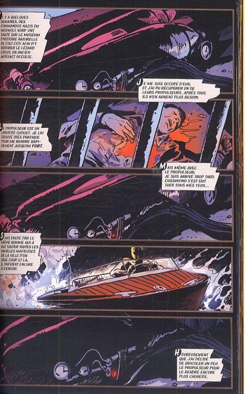 Black Beetle T1 : Sans issue (0), comics chez Urban Comics de Francavilla