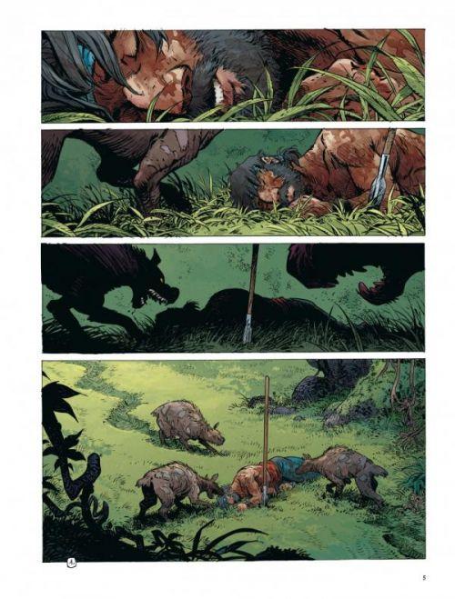 La quête de l'oiseau du temps – cycle 2 : Avant la quête, T8 : Le chevalier Bragon (0), bd chez Dargaud de Loisel, Le Tendre, Mallié, Lapierre
