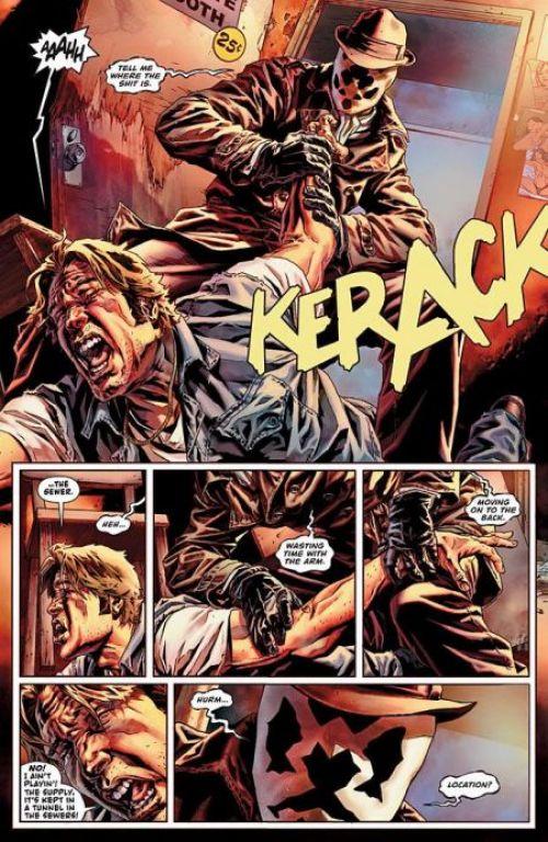Before Watchmen T3 : Rorschach (0), comics chez Urban Comics de Azzarello, Bermejo, Ciardo