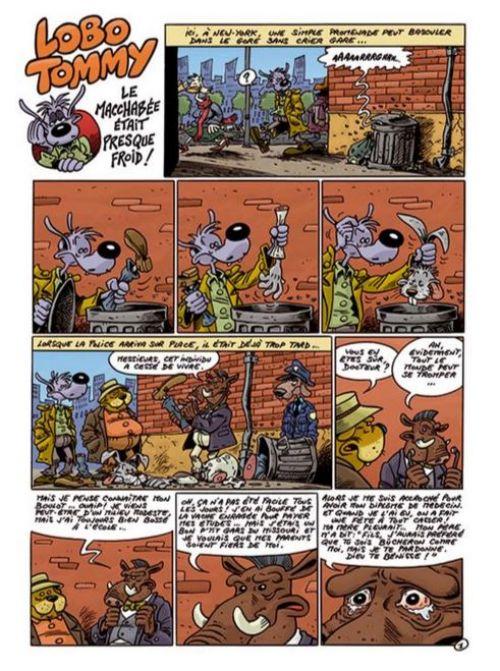 Lobo Tommy T2 : Lobo Tommy traque le crime et la crétinitude (0), bd chez Grand West Editions de Herlé