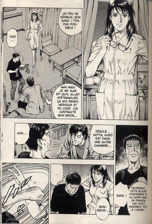 Angel heart – 2nd Season, T4, manga chez Panini Comics de Hôjô