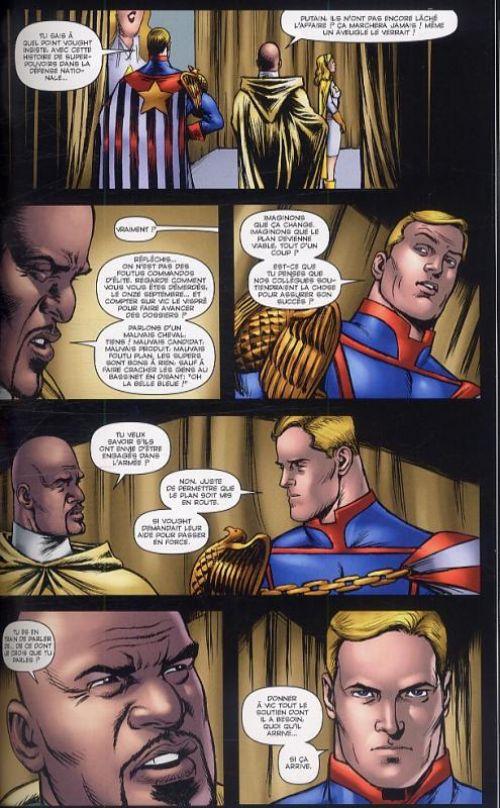 The Boys – édition Deluxe, T4 : Le prends pas mal (0), comics chez Panini Comics de Ennis, McCrea, Robertson, Braun, Burns, Aviña