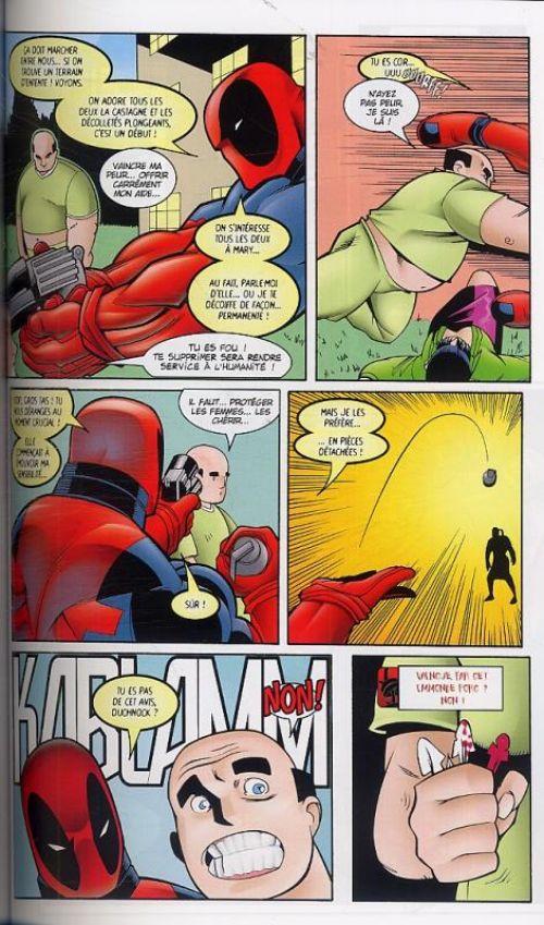 Deadpool (vol.3) T1 : Paradigme perdu (0), comics chez Panini Comics de Kelly, Denton, McGuinness, Lau, Lopresti, Chang, Digital Chameleon, Shah, Liquid!, Sotomayor, Paine, Lichtner