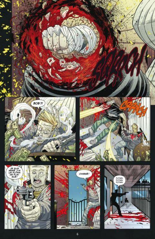 Luther Strode T2 : La légende (0), comics chez Delcourt de Jordan, Moore, Sobreiro
