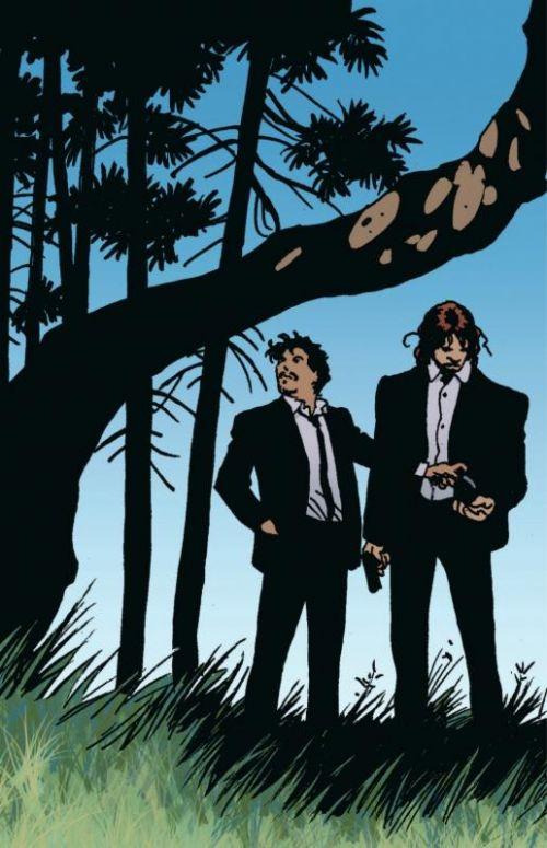 100 Bullets – Edition Hardcover, T14 : Dernières cartouches (0), comics chez Urban Comics de Azzarello, Risso, Mulvihill, Johnson