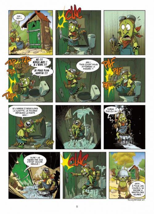 Goblins T7 : Mort et vif (0), bd chez Soleil de Roulot, Martinage, Esteban