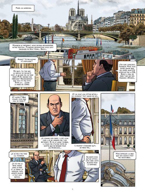 Sisco T7 : La loi de Murphy (0), bd chez Le Lombard de Benec, Legrain, Rizzu