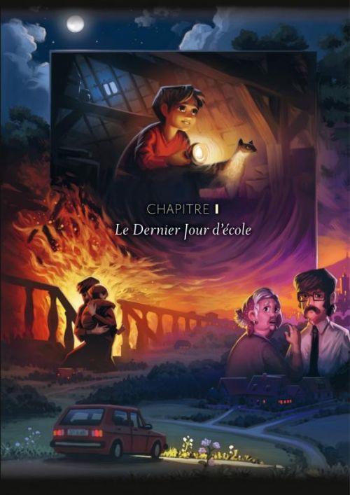Wormworld saga T1 : Le début du voyage (0), comics chez Dupuis de Lieske