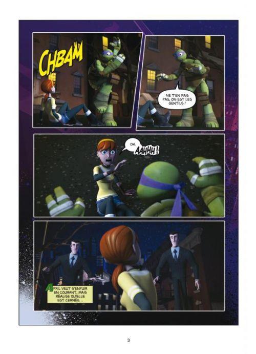 Teenage Mutant Ninja Turtles – cycle 1 : Les Tortues Ninja, T2 : La Menace des Kraang (0), comics chez Soleil de Sternin, Ventimilia, Eisinger