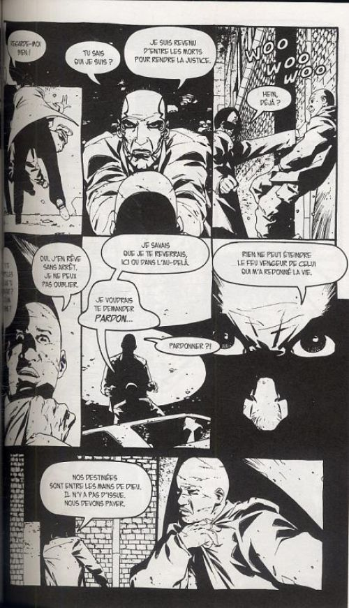 The Crow – Midnight legends, T1 : Pas de quartiers (0), comics chez Delcourt de Prosser, Adlard, Hotz