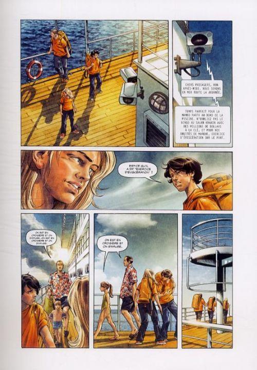 Percy Jackson T2 : La mer des monstres (0), comics chez Glénat de Venditti, Futaki, Gaspar
