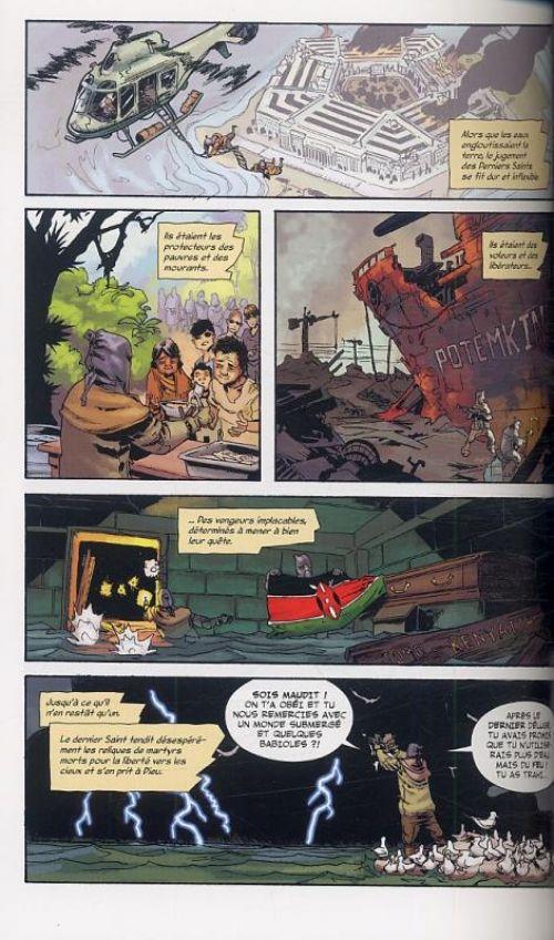 Orchid T2, comics chez Panini Comics de Morello, Hepburn, Jackson, Carnevale