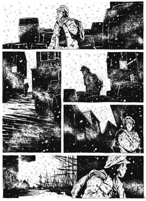 Moby Dick T1 : Livre 1 (0), bd chez Vents d'Ouest de Chabouté