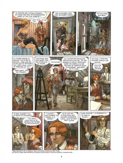 Ennemis de sang T1 : Les Moissons funestes (0), bd chez Glénat de Carin, Caryn