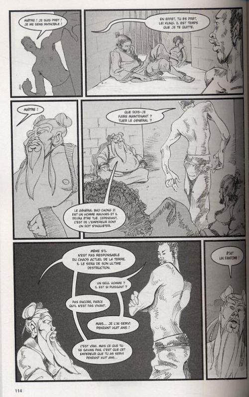 Infinite kung-fu T1, comics chez Pika de McLeod