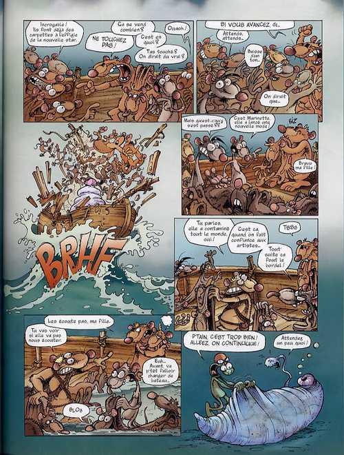 Rat's T8 : Tout baigne (0), bd chez Les Humanoïdes Associés de Corcal, Viala, P'tiluc, Lebreton, Garcia