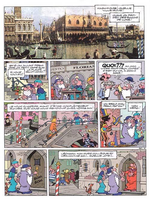 Léonard T36 : Le génie se gondole (0), bd chez Le Lombard de de Groot, Turk, Kael