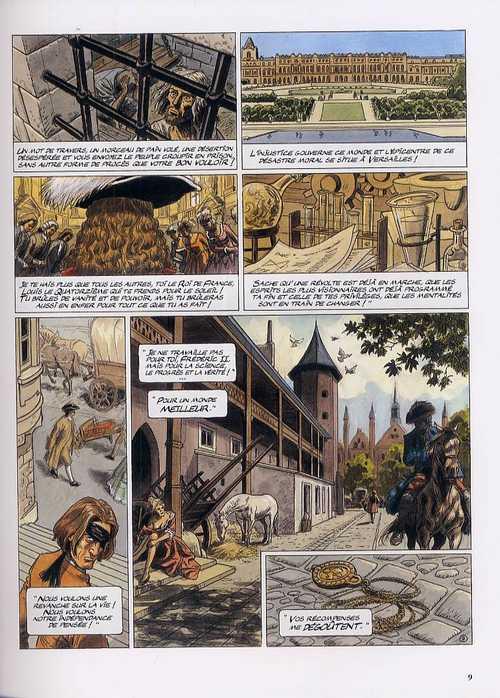 ApocalypseMania - cycle 2 T1 : Les lois du hasard (0), bd chez Dargaud de Bollée, Aymond