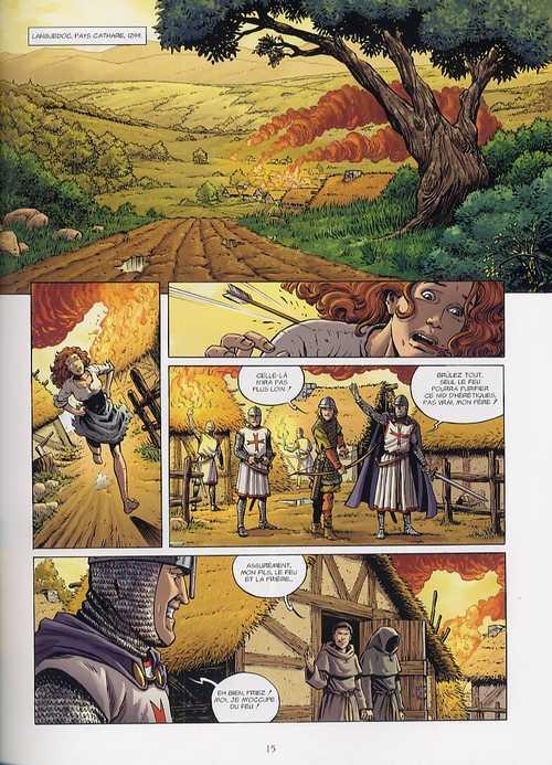 L'histoire secrète T3 : Le Graal de Montségur (0), bd chez Delcourt de Pécau, Sudzuka, Geto, Beau
