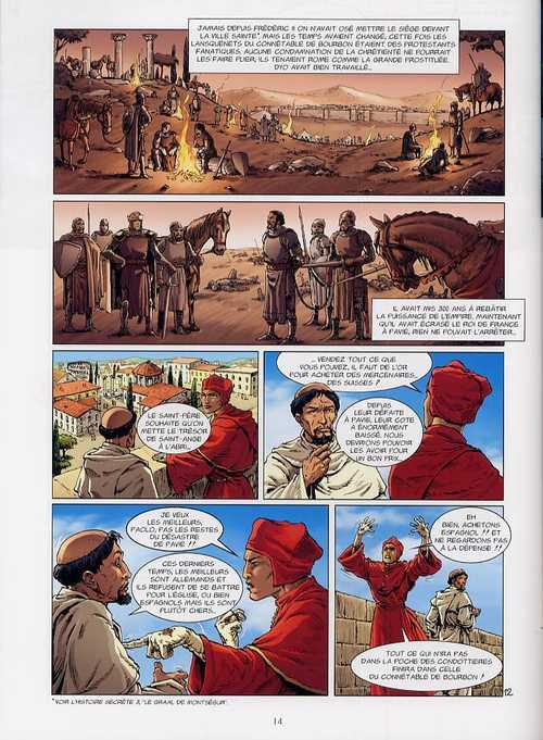 L'histoire secrète T4 : Les Clés de Saint Pierre (0), bd chez Delcourt de Pécau, Pilipovic, Beau