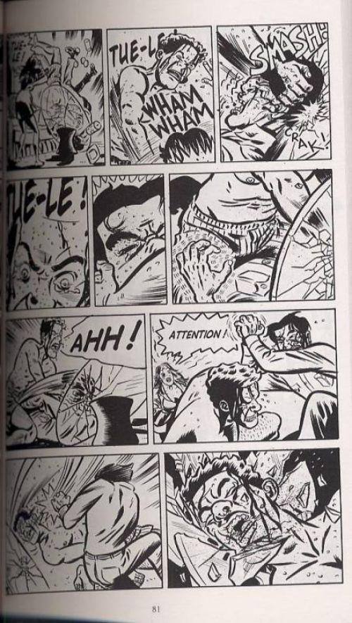 Tue-moi à en crever, comics chez Delcourt de Lapham