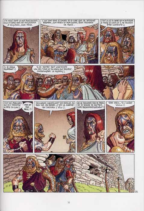 Arthur T8 : Gwenhwyfar la guerrière (0), bd chez Delcourt de Chauvel, Lereculey, Simon