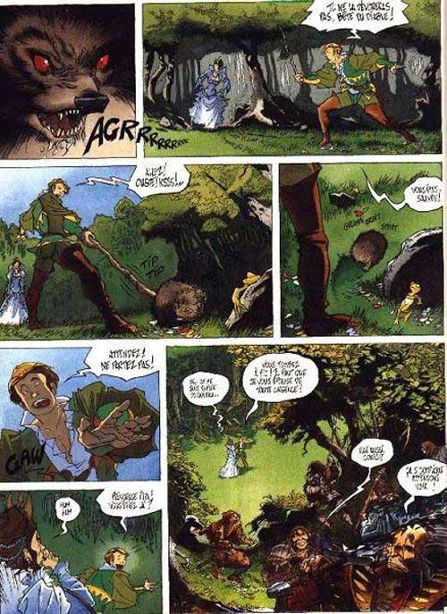 Garulfo T6 : La belle et les bêtes (0), bd chez Delcourt de Ayroles, Maïorana, Leprévost