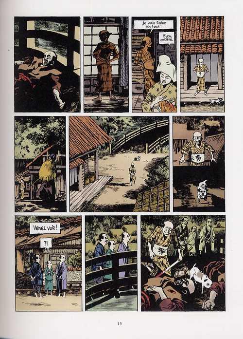 Les contes du 7e souffle T4 : Shitateya (0), bd chez Vents d'Ouest de Adam, Micol, Ruby