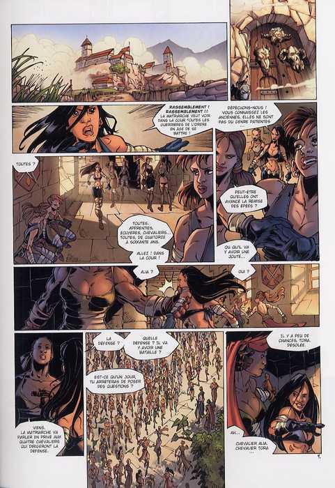 La geste des Chevaliers Dragons T4 : Brisken (0), bd chez Soleil de Ange, Briones, Paitreau