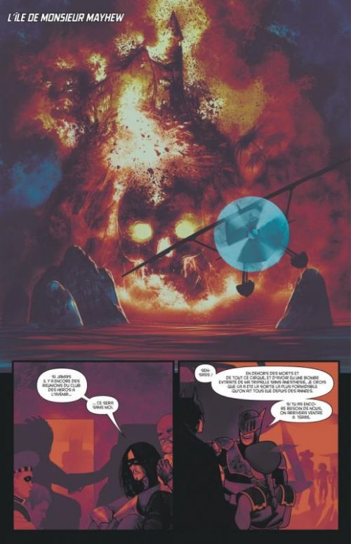 Grant Morrison présente Batman T8 : Requiem (0), comics chez Urban Comics de Burnham, Morrison, Irving, Masters, Guinaldo, Bressan, Fairbairn