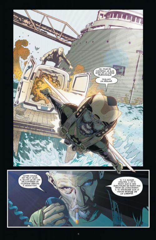 Ex Machina T2, comics chez Urban Comics de Vaughan, Sprouse, Harris, Mettler