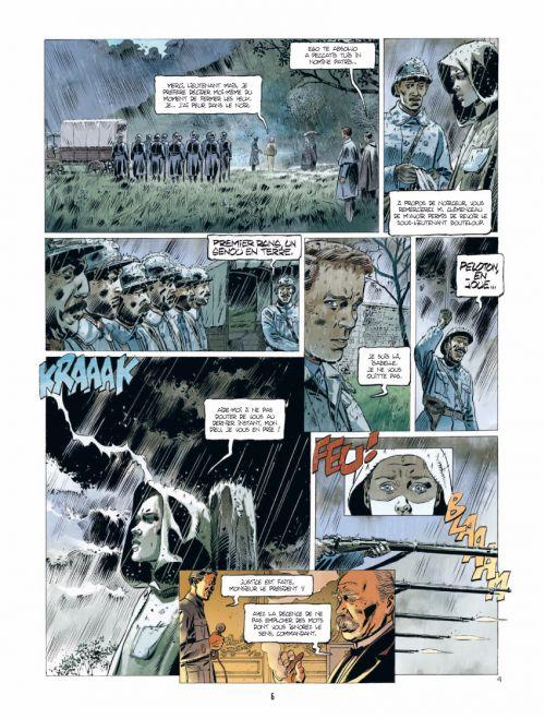 L'ambulance 13 – cycle 2, T4 : Des morts sans nom (0), bd chez Bamboo de Ordas, Mounier, Bouët