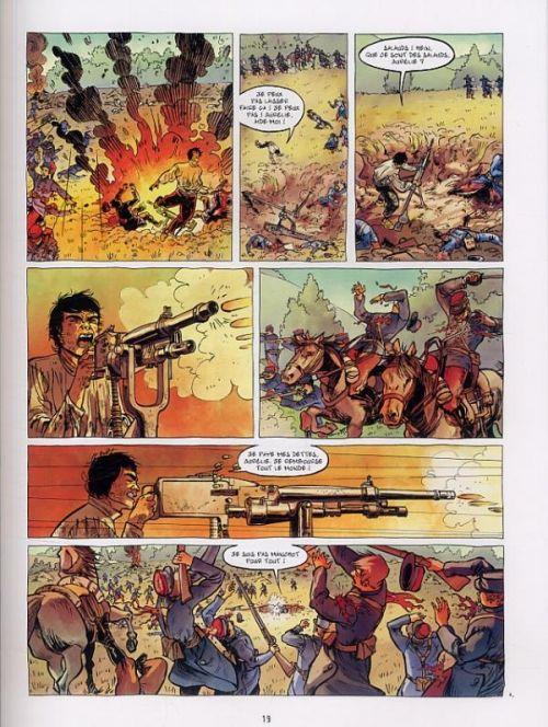 Le Fils de l'officier T3 : La tête en feu (0), bd chez Bamboo de Ordas, Cothias, Galland