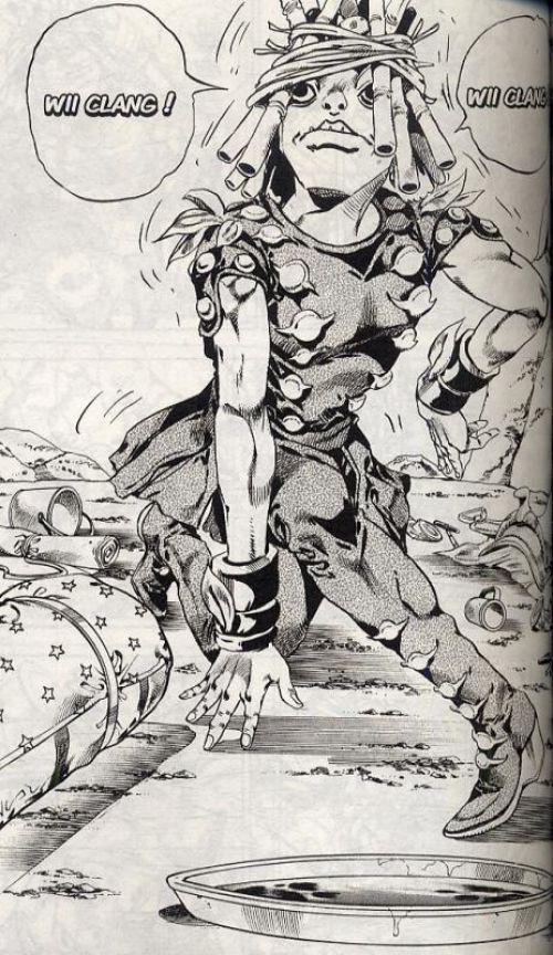 Steel ball run T5, manga chez Tonkam de Araki