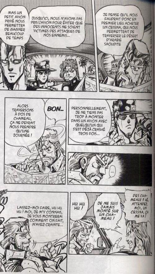 Jojo's Bizarre Adventure - Stardust crusaders T6, manga chez Tonkam de Araki