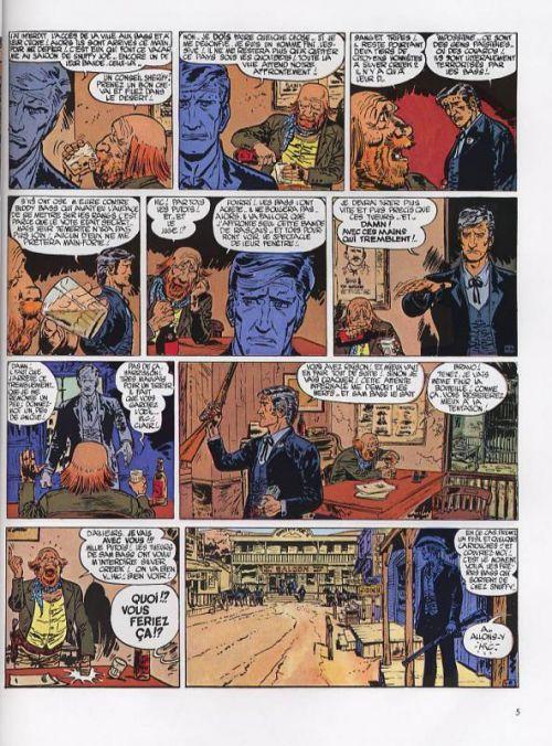 Blueberry – cycle 2 : Blueberry shérif, T6 : L'homme à l'étoile d'argent (0), bd chez Hachette de Charlier, Giraud, Blanc-Dumont