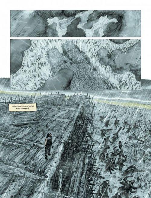 Noé T3 : Et les eaux envahirent la Terre (0), bd chez Le Lombard de Aronofsky, Handel, Henrichon