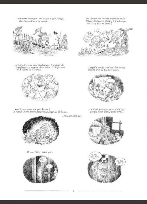 L'Encyclopédie curieuse et bizarre par Billy Brouillard T1 : Les fantômes (0), bd chez Soleil de Bianco