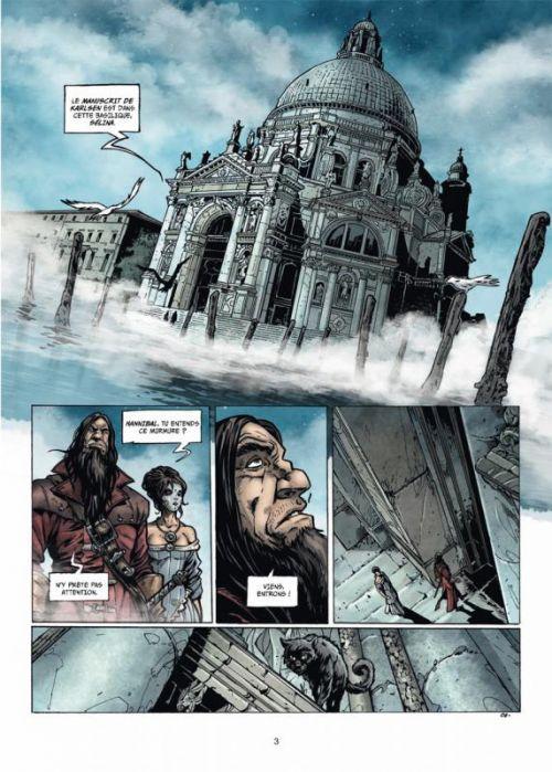 Hannibal Meriadec et les larmes d'Odin T4 : Alamendez, chasseur et canni (0), bd chez Soleil de Istin, Crety, Cordurié