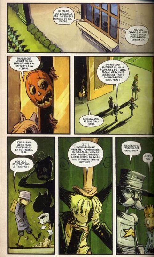 Le magicien d'Oz T3 : Le merveilleux pays d'Oz (0), comics chez Panini Comics de Shanower, Young, Beaulieu
