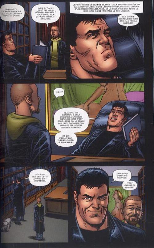 The Boys – édition Deluxe, T5 : Le fils du boulanger (0), comics chez Panini Comics de Ennis, Burns, McCrea, Robertson, Braun, Aviña