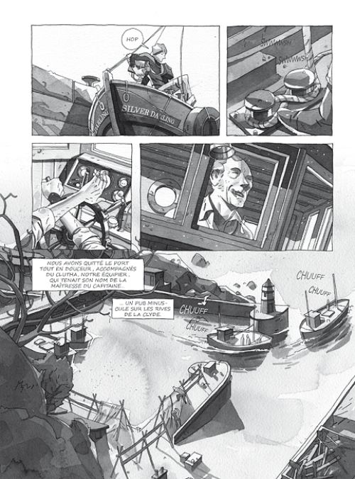 Silver Darling, comics chez Cambourakis de Morris