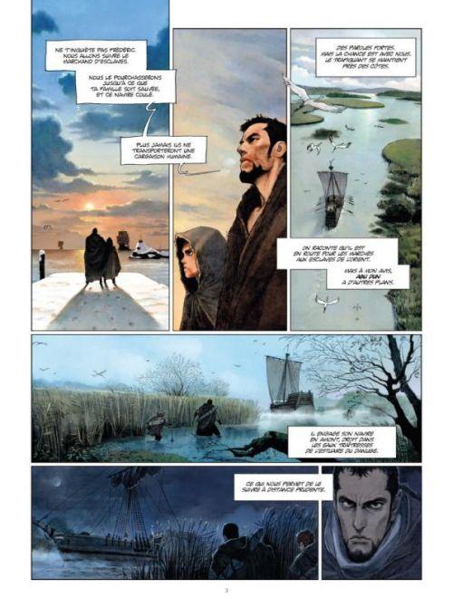 La chronique des immortels – cycle 2 : Le vampyre, T3 : Le vampyre (0), bd chez Paquet de Von Eckartsberg, Chaiko