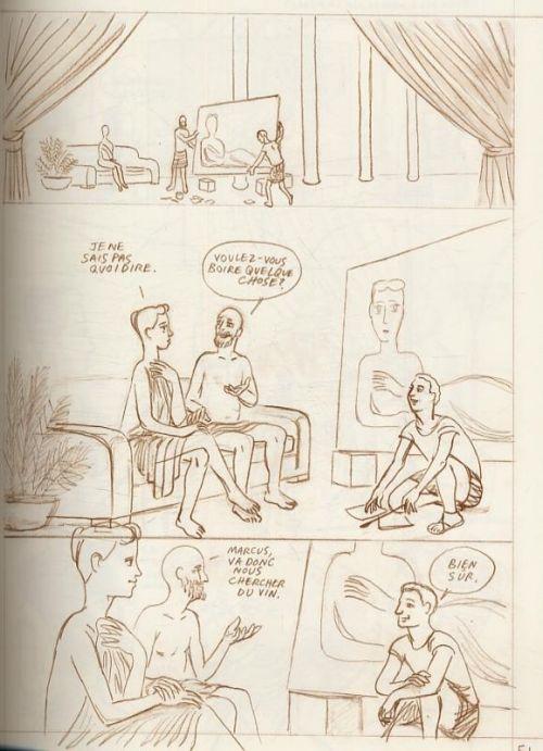 Pompéi, comics chez Çà et là de Santoro