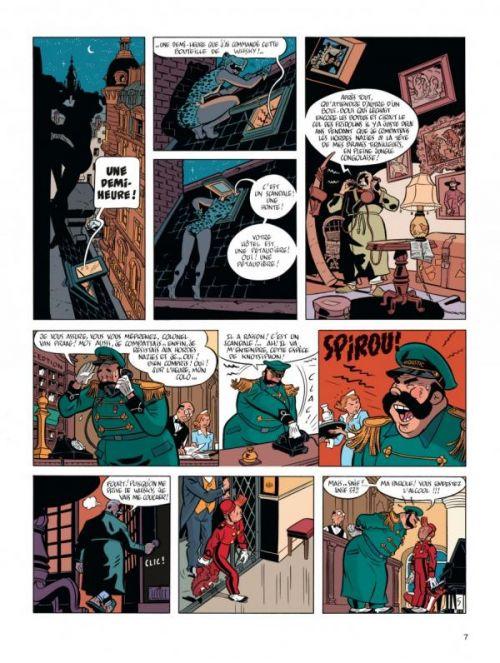 Le Spirou de... T7 : La femme Léopard (0), bd chez Dupuis de Yann, Schwartz, Croix