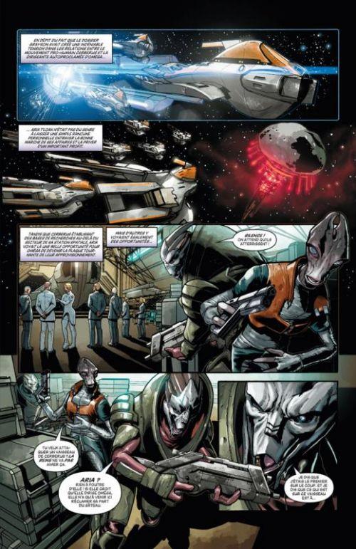 Mass Effect T2 : Invasion (0), comics chez Delcourt de Walters, Jackson Miller, Francia, Atiyeh, Renaud